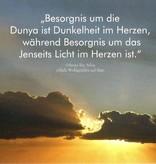 Besorgnis um die Dunya - Postkarte - PK14