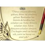 Türkische Postkarte - Hadith - PK9