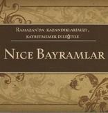 Nice Bayramlar - Postkarte - PK3