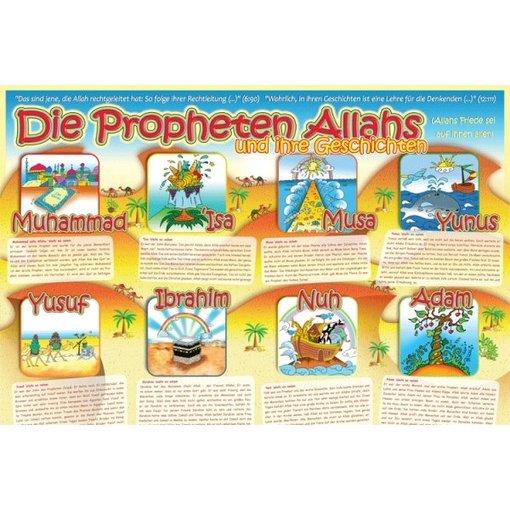 """Poster XL """"Die Propheten Allahs"""""""