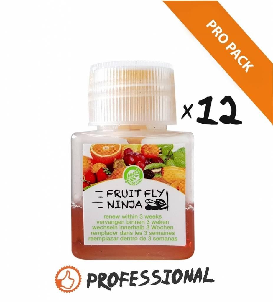 1 XL Pro Pack (12 XL fruitvlieg vangers)