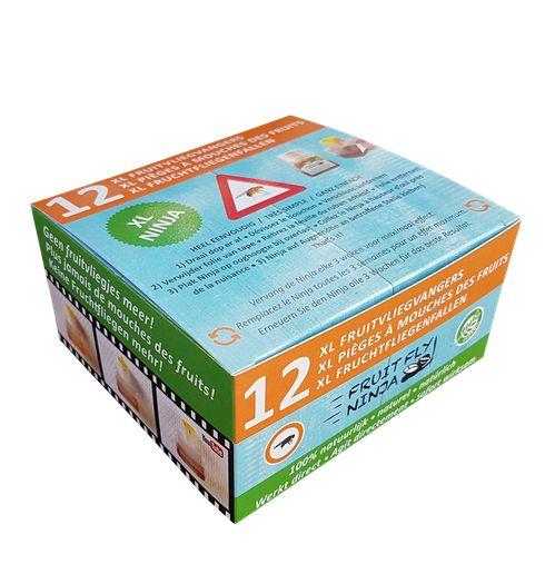 XL Pro Pack (12 XL fruitvlieg vangers)
