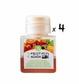 4-Pack (4 XL fruitvlieg vangers)