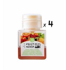 4-Pack (4 fruitvlieg vangers)
