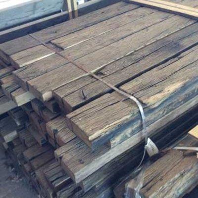 Eik: Oude eiken wagonplanken
