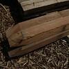 Azobe: Palen hardhout met punt 8cmx8cmx3m