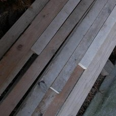 Steigerhout: Gebruikt Steigerhout Stroken en Strips