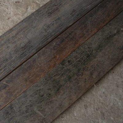 Azobe: Scheepsvloer 2 dik geborsteld