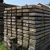 Gebruikt Baddingenhout dikte 5,5cm