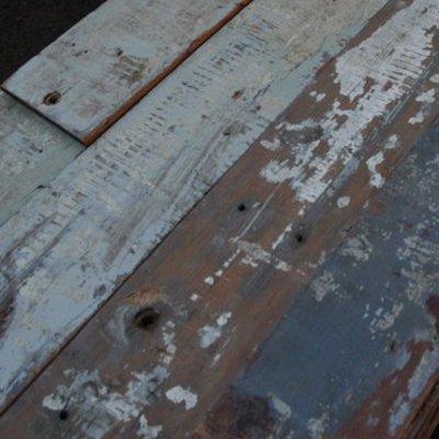 Sloophout 140 jaar oud