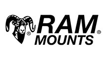 RAM Mounts RAM RAIL BASE W/BALL & ZINC U-BOLT