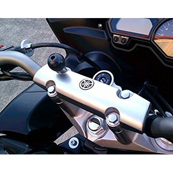 RAM Mounts RAM MOTORCYCLE BASE W HOLE M8 SCREW