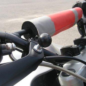 RAM Mounts RAM BALL W/ 3/8-16 THREAD POST FLAT SIDE