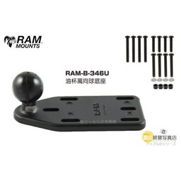 RAM Mounts RAM RESERVOIR COVER SIDE BALL