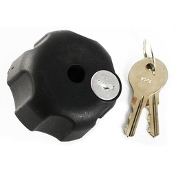 "RAM Mounts KNOB W/ LOCK & 1/4""-20 BRASS HOLE B SIZE"
