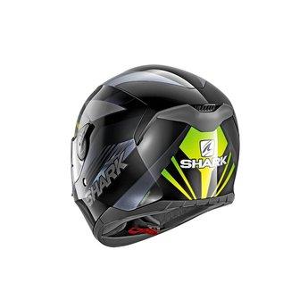 Shark Helmets D-SKWAL MERCURIUM   BLACK ANTHRACITE GREEN