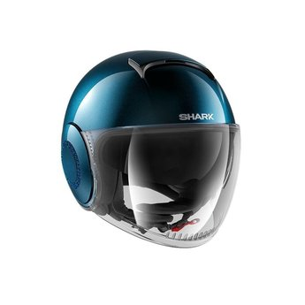 Shark Helmets NANO SWAROVSKI METAL BLUE