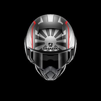 Shark Helmets STREET DRAK ZARCO MAT MAL.GP ANTRASITE SILVER RED