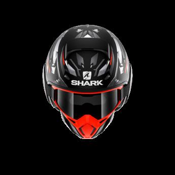 Shark STREET DRAK KANHJI MAT BLACK ORANGE SILVER