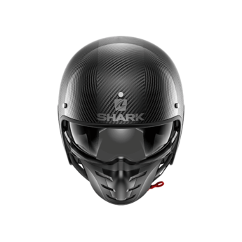 Shark S-DRAK CARBON SKIN CARBON SILVER BLACK