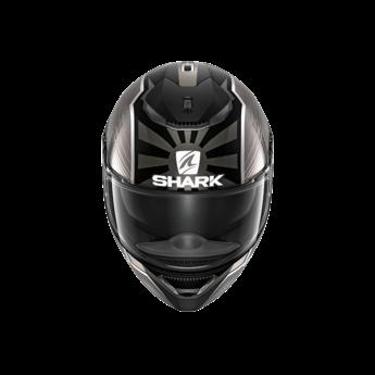 Shark SPARTAN 1.2 ZARCO MAL. GP MAT BLACK ANTHRACITE SILVER