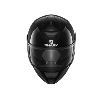 Shark Helmets D-SKWAL BLANK   BLACK