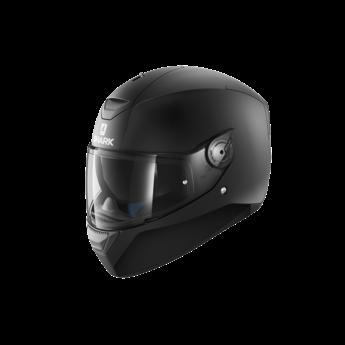 Shark Helmets D-SKWAL BLANK Mat   BLACK MATTE