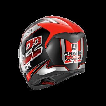 Shark Helmets D-SKWAL SAM LOWES   BLACK ORANGE SILVER