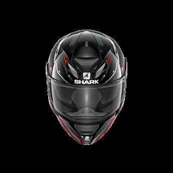Shark Helmets D-SKWAL KANHJI   BLACK RED WHITE