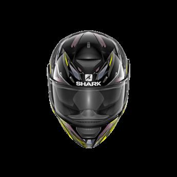 Shark Helmets D-SKWAL KANHJI   BLACK YELLOW ANTHRACITE