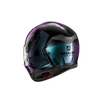 Shark Helmets D-SKWAL DHARKOV   BLACK VIOLET GLITTER