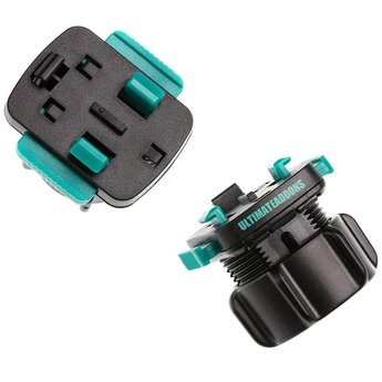Ultimate Addons Spiegel bevestiging 8-10mm + 3 prong adapter