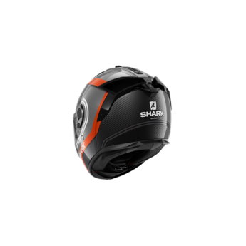 Shark Spartan GT Carbon Tracker Carbon Anthracite White