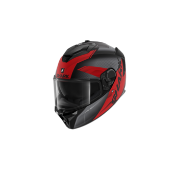 Shark Spartan GT Elgen Mat Black Anthracite Red