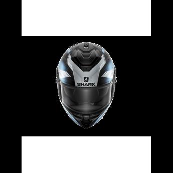 Shark Spartan GT Elgen Mat Black silver silver