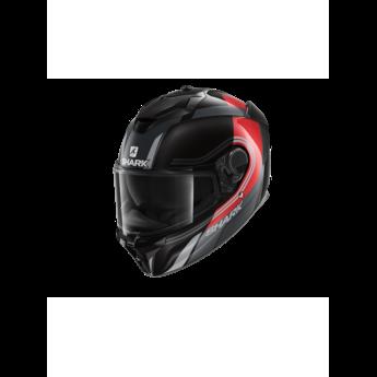 Shark Spartan GT Tracker Black red silver