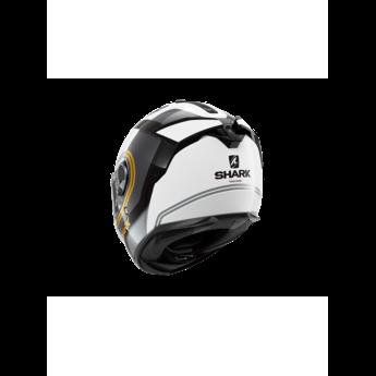 Shark Spartan GT Tracker White Black Gold