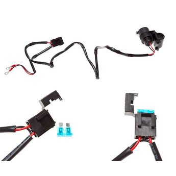 CLAW CLAW 3.1AMP Dual USB Hardwire Charger Handlebar