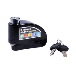 CLAW CLAW Disc Lock with Alarm Black