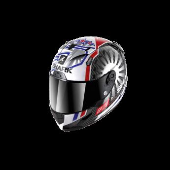 Shark RACE-R PRO CARBON ZARCO GP FRANCE 2019  Carbon Chrome Red