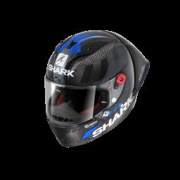 Shark RACE-R PRO GP LORENZO WINTER TEST 99 Carbon Antracite Red