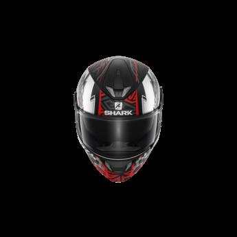 Shark SKWAL 2 NOXXYS Mat Black Red Silver