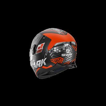Shark SKWAL 2 NOXXYS Mat Black Orange Silver