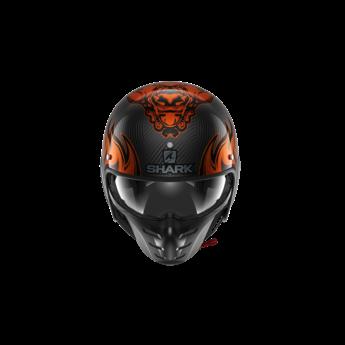 Shark S-DRAK 2 CARBON DAGON Carbon Orange Orange