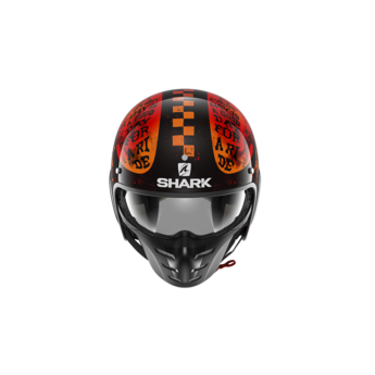 Shark S-DRAK 2 TRIPP IN Black Orange Orange