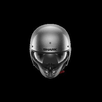 Shark S-DRAK 2 BLANK GLITTER Silver Silver Glitter