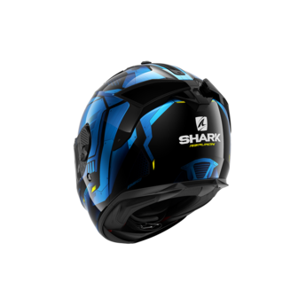 Shark SPARTAN GT REPLIKAN Black Chrome Blue