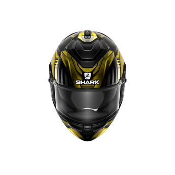 Shark SPARTAN GT REPLIKAN Black Chrome Gold