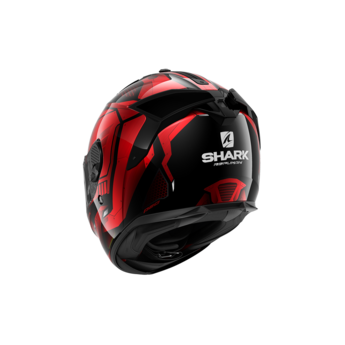 Shark SPARTAN GT REPLIKAN Black Chrome Red