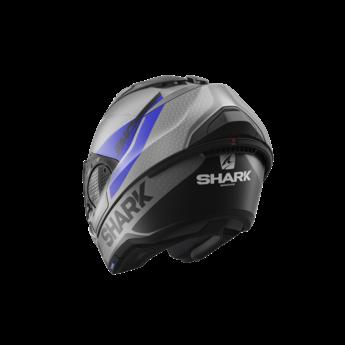 Shark EVO GT ENCKE MAT   Antracite Blue Black